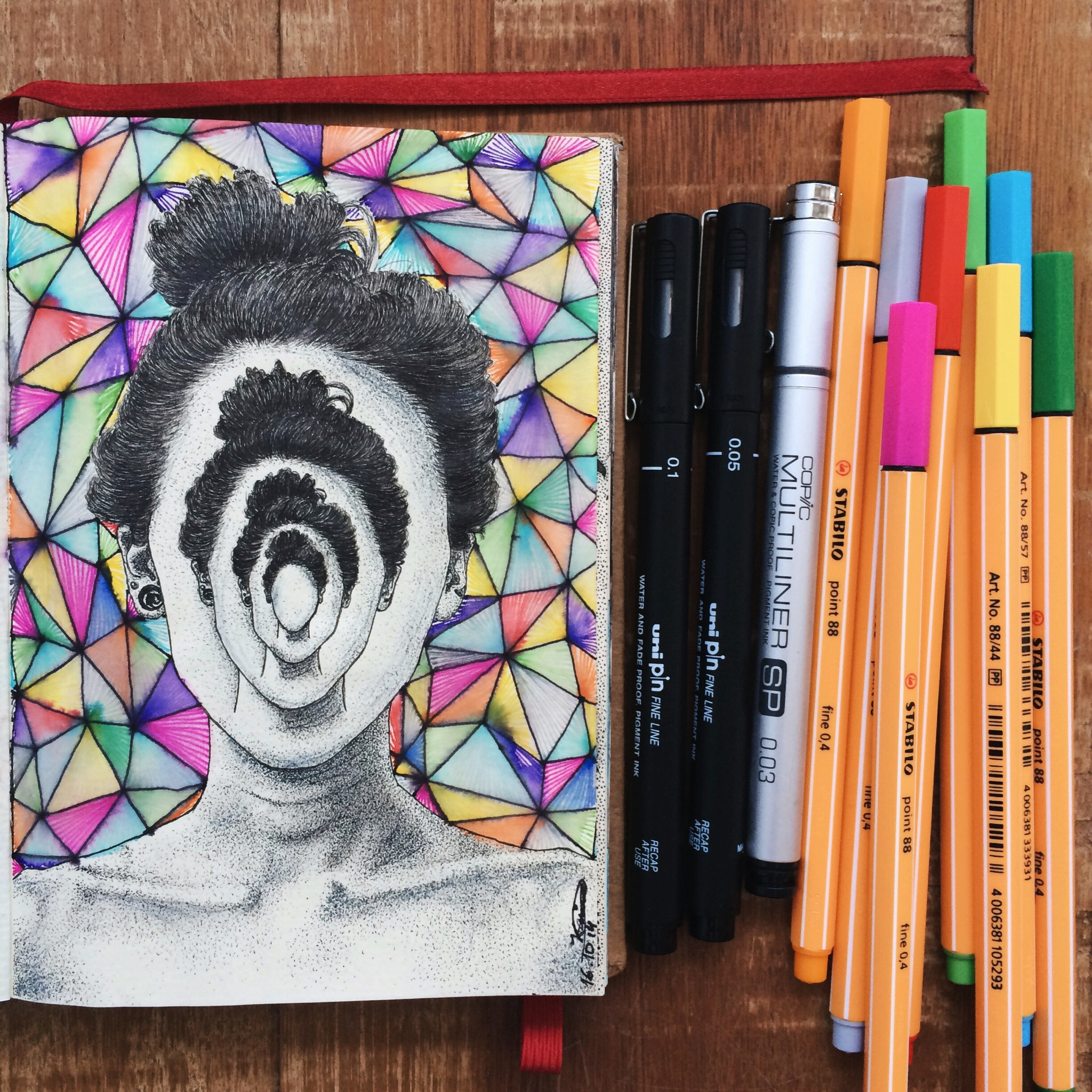 Sketch Art Face Drawing