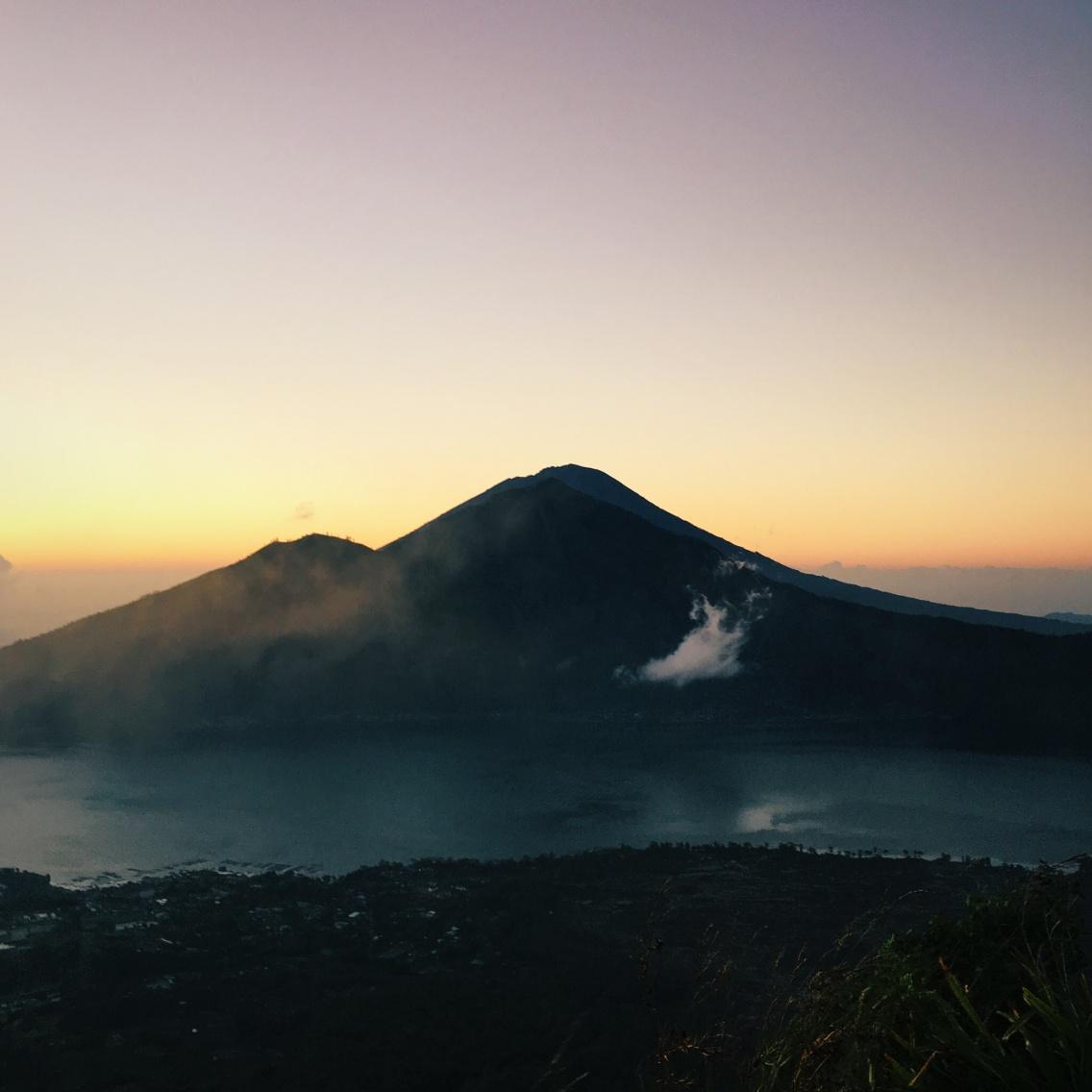 VSCO - View of the mountain, Bali  #bali #indonesia