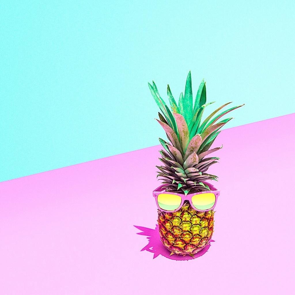 VSCO - #fruit #stilllife #pineapple #summer #pastel #pastels