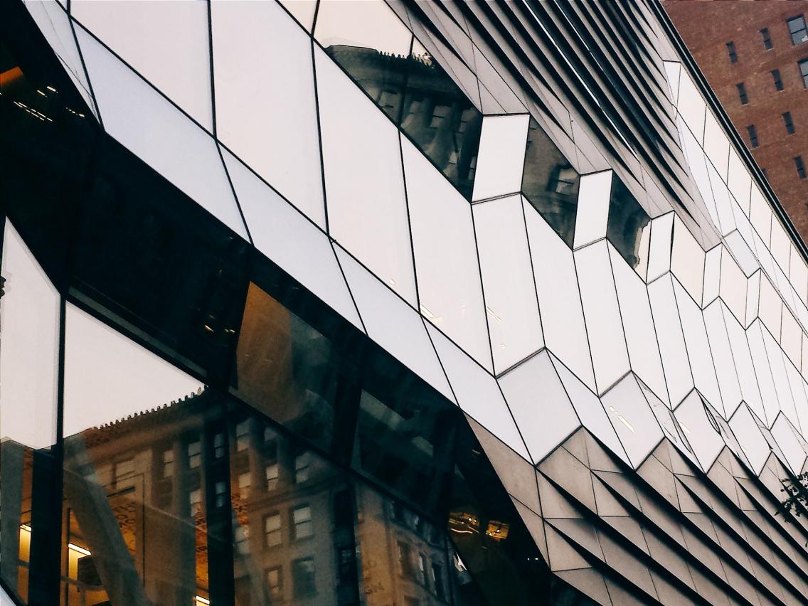 art in architecture in New York