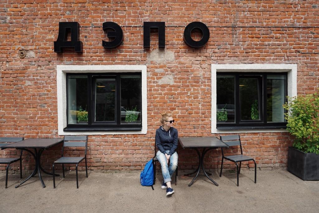VSCO - #depo #minsk #girl #wall #brick | lilitt