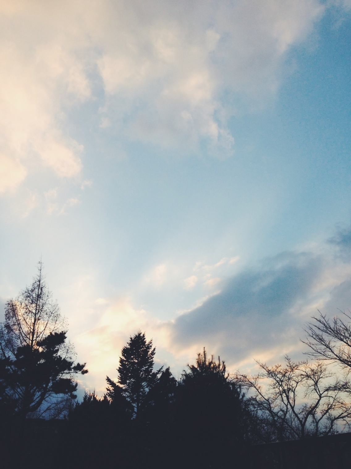 Beautiful Sky Nice Weather Senkko Vsco
