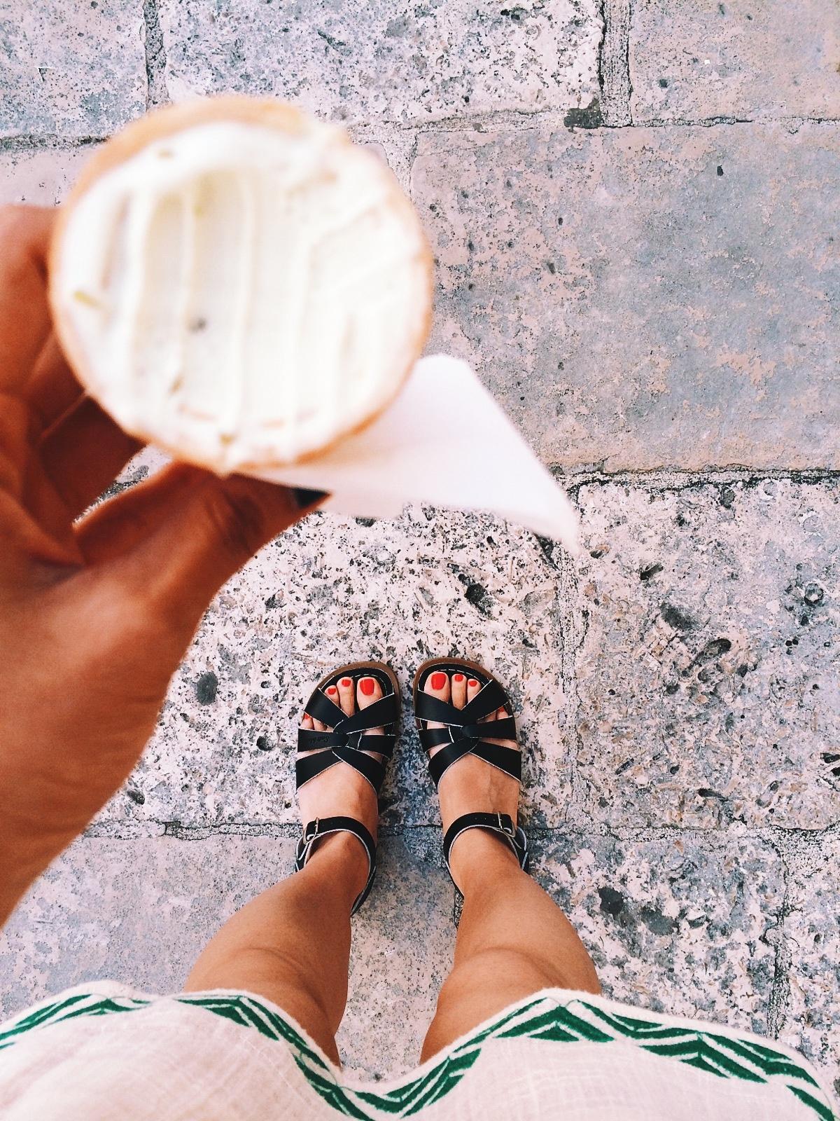 ice cream \u0026 saltwater sandals are the