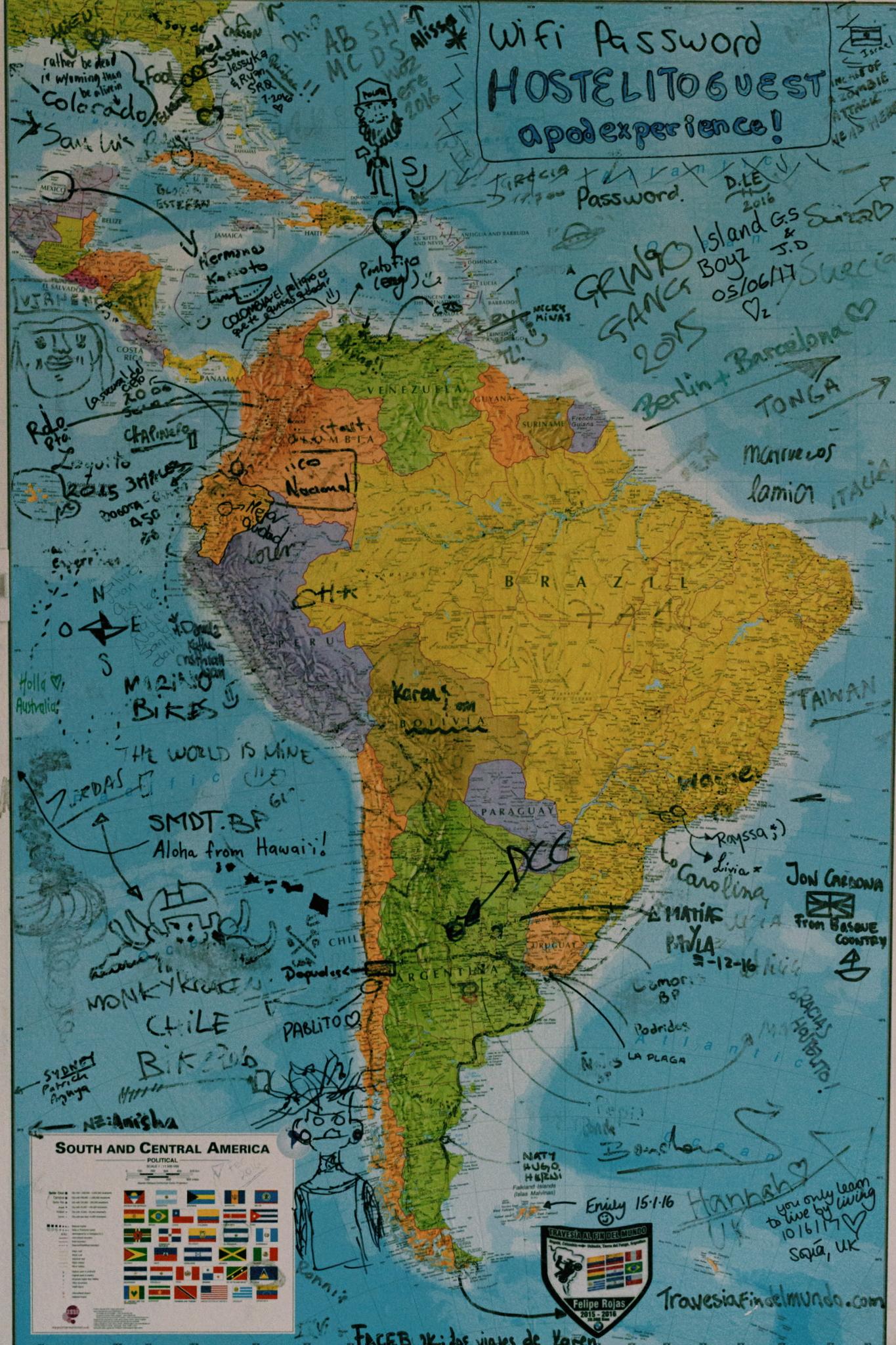 el mapa de hostalito hostalito quito pichincha